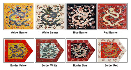 the eight banner system manchu clan The eight banner system has ties that can be noted and seen as far back as the manchu clan system stage during that time period, the manchus would set out in what were called hunting activities of which they essentially were engaging in military operations that consisted of usually taking a family or village population and organized it as an.