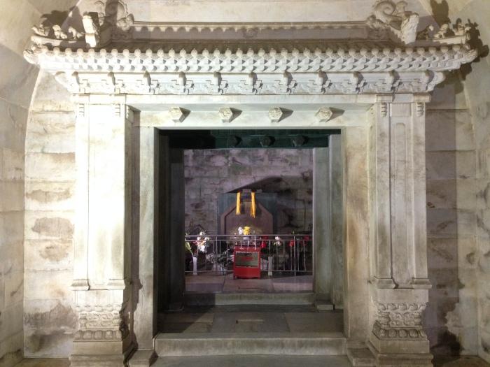 慈禧太后的陵墓地宫。