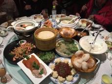 第一晚在四季民福参观中饱餐一顿!:D — at 四季民福烤鴨王府井店.