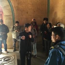 清史网北京考察团在清东陵