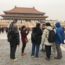 清史网北京考察团在故宫博物院